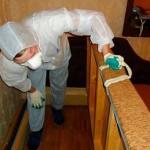 Дезинфекция и уборка помещений после умершего