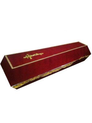 Стандартный гроб на похороны