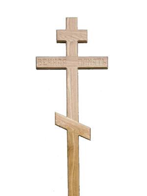 Крест дубовый стандарт