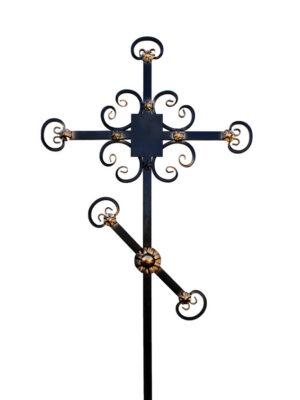 Крест железный кованный