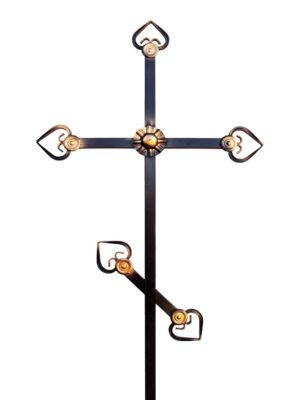 Крест железный простой